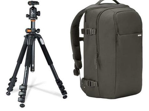 Better prepare for photoshoots with the $180 Incase DSLR Pro Backpack and Vanguard Tripod bundle