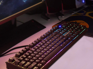 Start gaming with the VicTsing RGB Backlit Keyboard for just $13