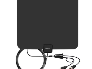 Cancel your cable bill for the new year and switch to this $10 amplified HDTV antenna