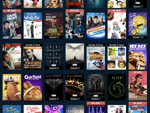 Grab the disc and digital copies of select top films and TV show seasons for $10 total