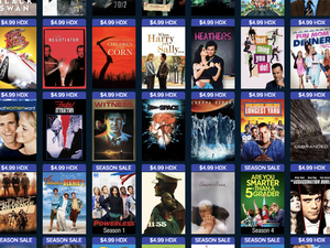 Various digital HDX films and TV shows are down to $5 each at Vudu this weekend