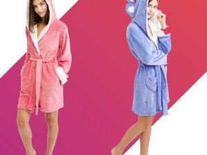 Walmart has the cutest sleepwear sets and plush robes on sale for $5