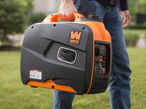 The Wen 56200i Gas-powered Portable Generator is down to $390 today only