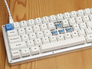 Customize every switch and key with the $120 WhiteFox mechanical keyboard