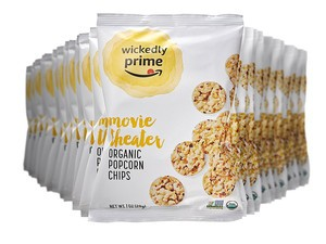 Bring the theater home with these $11 Wickedly Prime organic popcorn chips