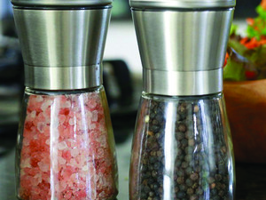 Add some style to your kitchen with the $11 Willow & Everett salt and pepper grinder set
