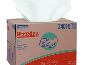Grab a box of 180 Wypall reusable wipes for just over $13 today