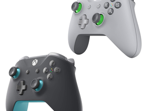Start playing with a Grey and Blue or Grey and Green Xbox Wireless Controller for $60