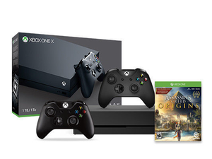 Get an extra controller and Assassin's Creed Origins with this $480 Xbox One X bundle