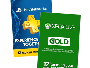 Don't miss out on these discounted PlayStation Plus and Xbox Live Gold subscriptions
