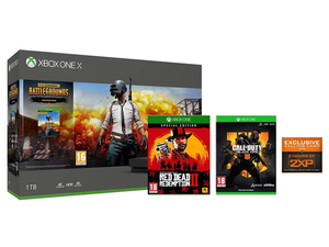This limited-time Xbox One X deal bundles in the console, PUBG, Red Dead Redemption 2 and Black Ops 4