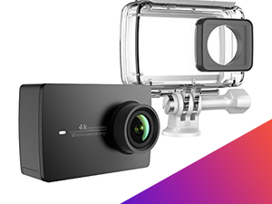 The $153 Yi 4K Action Camera and waterproof case is perfect for your next adventure