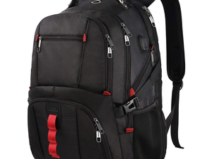 This $30 XL Durable Laptop Backpack is a perfect option to carry-on