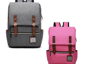 Treat yourself to this $10 backpack to help you carry your laptop in style