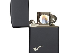 This luxe matte black Zippo Pipe lighter is only $11