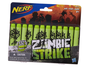 Pick up this 12-pack of Nerf Zombie Strike darts for less than $3 before the undead arrive