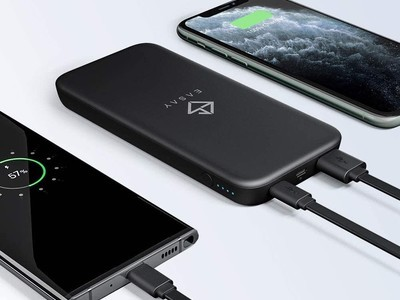 Keep your gear charged with this 10000mAh USB-C power bank down to just $10