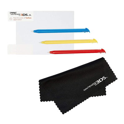 AmazonBasics Screen Protection and Stylus Kit for New Nintendo 3DS XL
