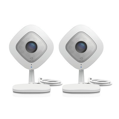 Netgear Arlo Q 1080p HD Security two Cameras