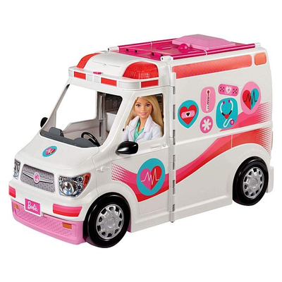 Get Barbie the help she needs with the $36 Care Clinic Vehicle at its lowest price yet