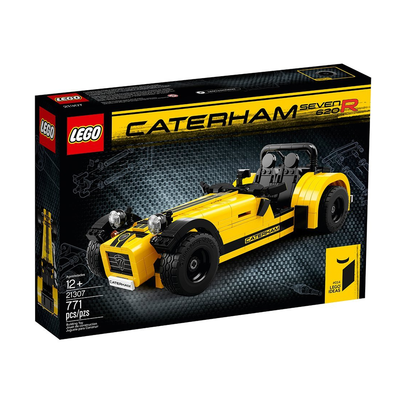 Build and display the Lego Ideas Caterham Seven 620R kit for just ...