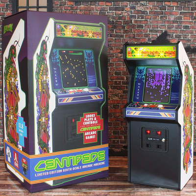 RepliCade X Centipede Arcade Cabinet by New Wave Toys