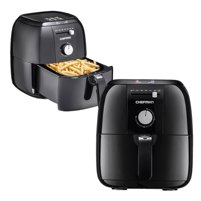 Perfect the art of french fries with 50% off the Chefman 2.5L Analog Air Fryer today