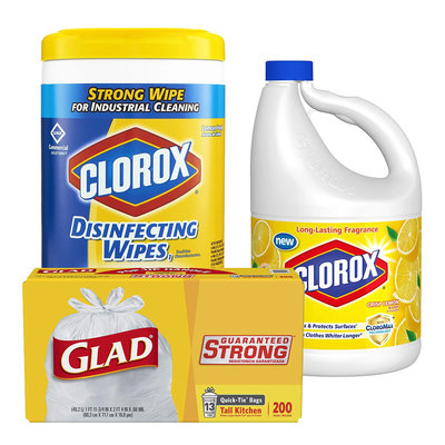 Become a spring clean machine with 20% off Clorox products in Amazon's one-day sale