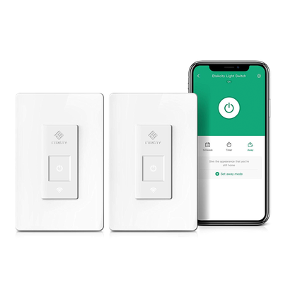 Etekcity Smart Wi-Fi Light Switch 2-pack
