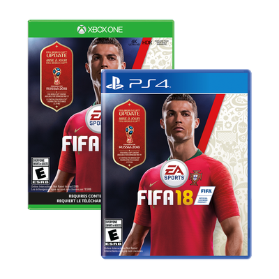Fifa 18 for PlayStation 4 and Xbox One