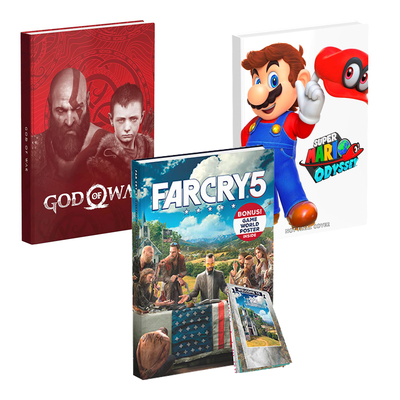 50% off Collector's Edition Game Guides at GameStop