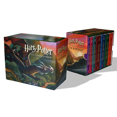 Show a new wizard the way to Hogwarts with the $33 complete Harry Potter book series
