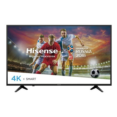 Stream your favorite shows with $120 off a 49-inch Hisense 4K Smart LED TV