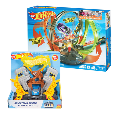 Hot Wheels toys and playsets are discounted as low as $6 via Amazon