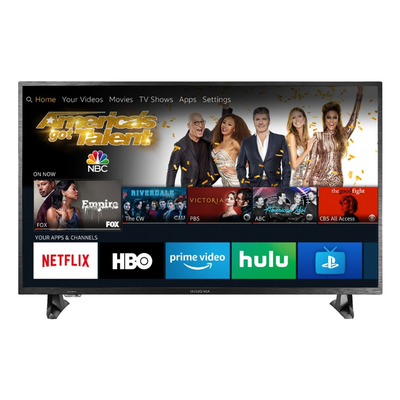 Upgrade to Insignia's 50-inch 4K Fire TV Edition and control your smart home from the remote