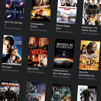 Black Friday sale on digital films and TV show seasons via iTunes