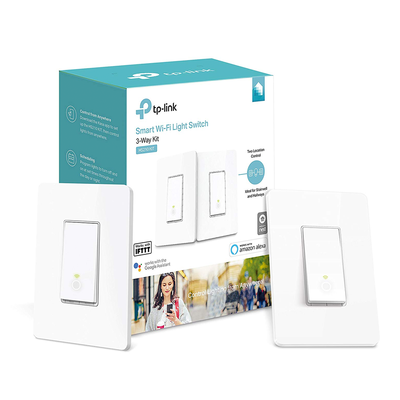 TP-Link Kasa Smart Wi-Fi Light Switch, 3-Way Kit