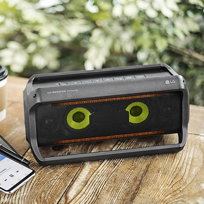 Keep the party going with the LG PK5 XBoom Go Bluetooth speaker on sale for $48