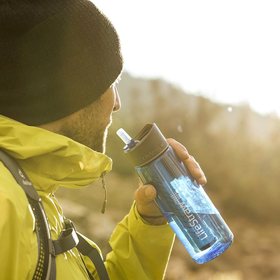 LifeStraw Go Water Filter Bottles two-pack