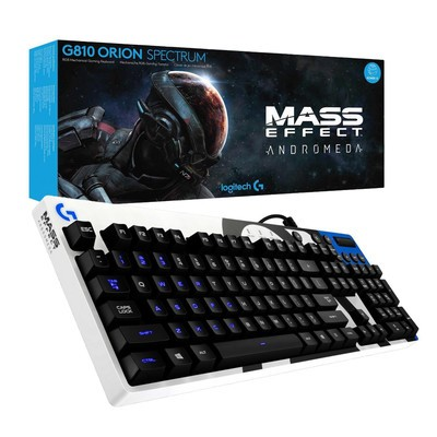 Get your hands on the Mass Effect-themed Logitech G810 gaming keyboard for its lowest price