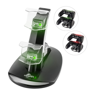 Megadream Dual USB Charging Station for Sony Playstation DualShock 4 Controllers