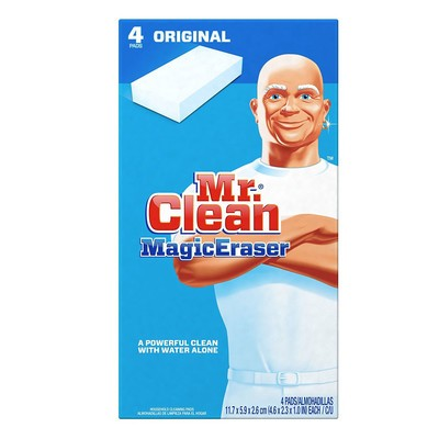 Stock up on a four-pack of Mr. Clean Magic Erasers for only $2 shipped