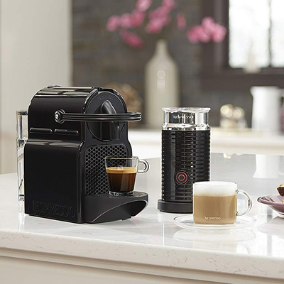 Brew single-serve cups with the Nespresso Inissia Espresso Machine at one of its best prices