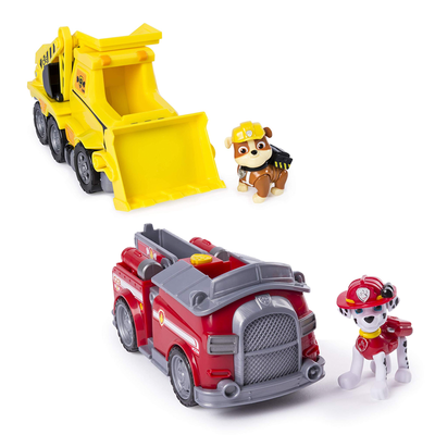 Save the day with Paw Patrol toys like Marshall's Transforming Fire Truck from $5