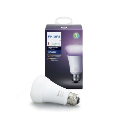 Philips Hue White and Color A19 60W LED Smart Bulb