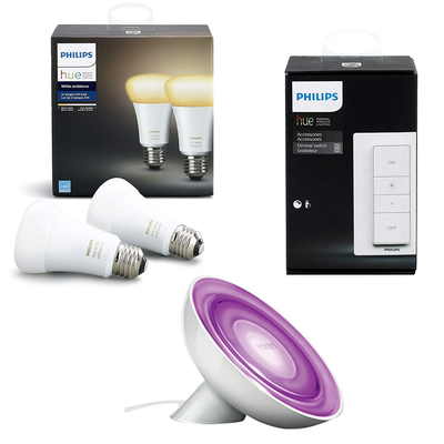 Philips Hue Ambiance bulbs and more