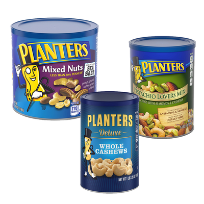 Stock up on snacks for the big game with an extra 20% off Planters mixed nuts, cashews, and more