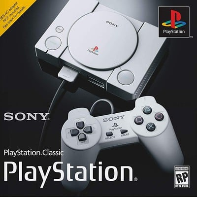 PlayStation Classic retro gaming console