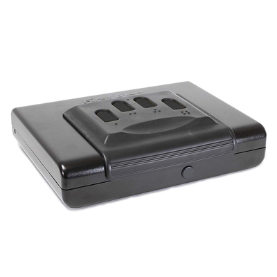 b97e50204cf Safeguard your handgun with this discounted First Alert Portable Safe at  $33 off