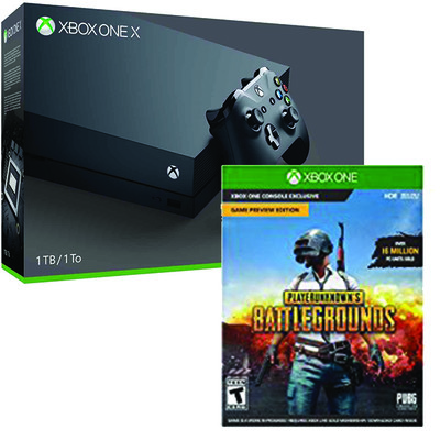 get playerunknown s battlegrounds free with the 499 xbox one x